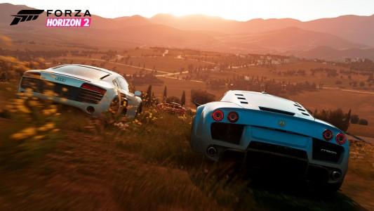 Forza Horizon 2 cross-country