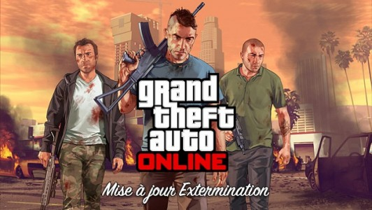 GTA Online Extermination Logo