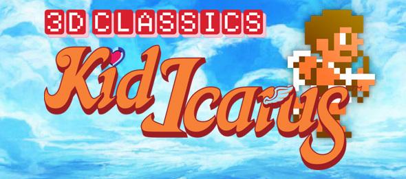 Kid Icarus 3D Classics Titre