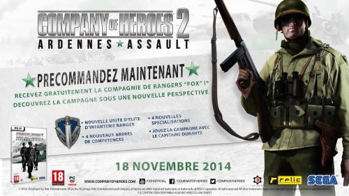 Company of Heroes 2 Ardennes Assault précommande bonus
