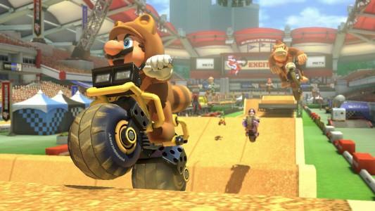 Mario Kart 8 Excitebike
