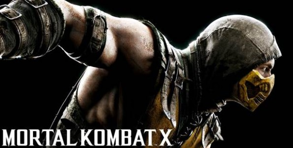 Mortal Kombat X affiche scorpion