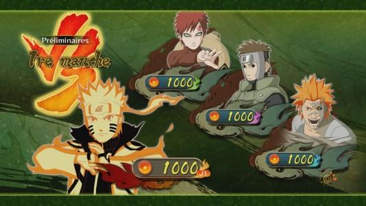 Naruto Shippuden Ultimate Ninja STORM Revolution un contre trois