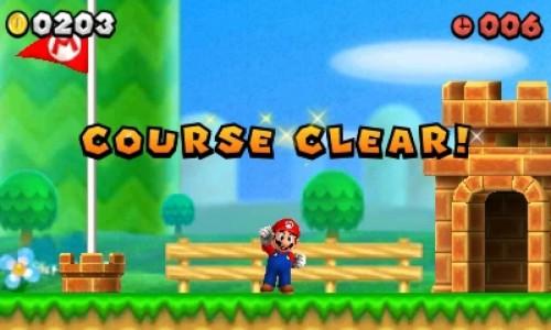 Mario Course Clear