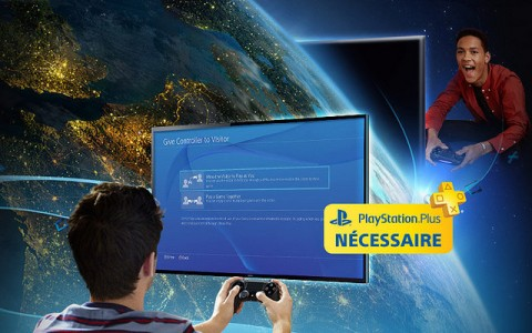 PlayStation 4 Share Play