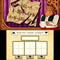 Professeur Layton et le Masque des Miracles énigme 2