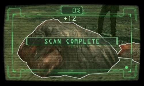 Resident Evil Revelations Scanner