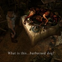 Silent Hill 3 chien en barbecue