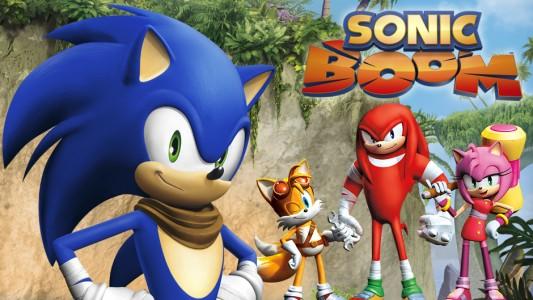 Sonic Boom Titre