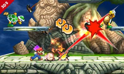 Super Smash Bros. for Nintendo 3DS Aventure Smash