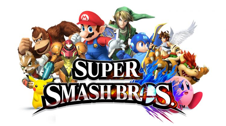 La belle bande de Super Smash Bros..