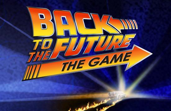 Retour vers le futur le jeu logo