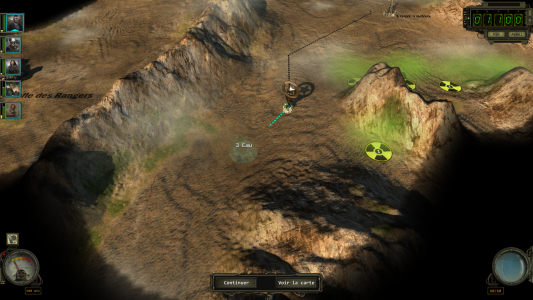 Wasteland 2 cartes