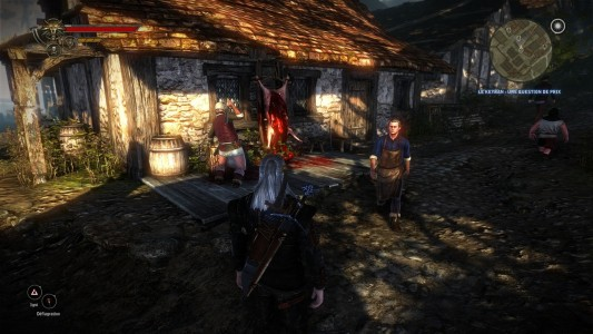 The Witcher 2 Assassin's of Kings village