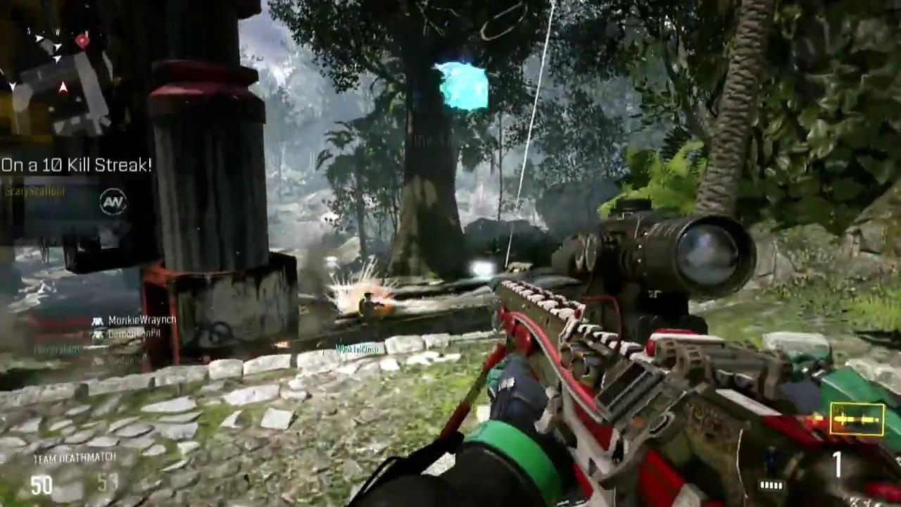 Call of Duty : Advanced Warfare informations armes