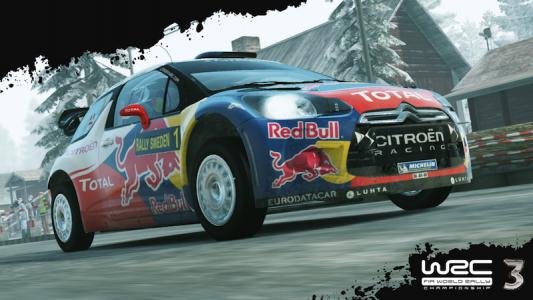 WRC 3 Redbull Car