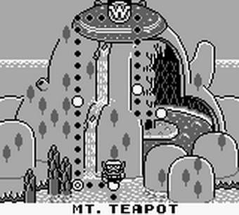 Wario Land Super Mario Land 3 Carte