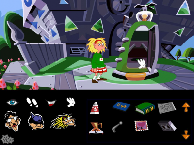 day of the tentacle point & click