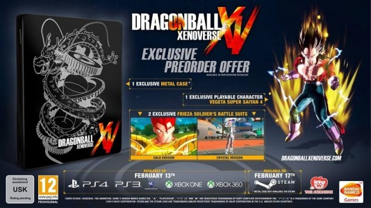 dragon ball xenoverse précommande