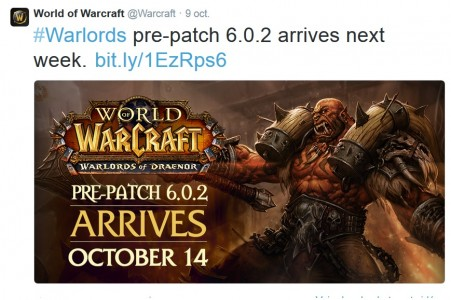 mise à jour wow 6.0.2