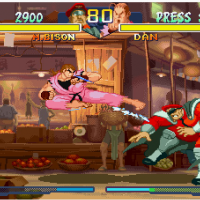 Street Fighter Alpha 2 baston