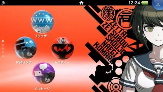 Thème personnalisé Danganronpa : Another Episode pour PlayStation Vita
