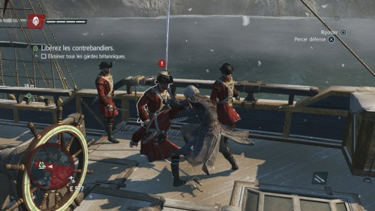 Assassin's Creed Rogue combat