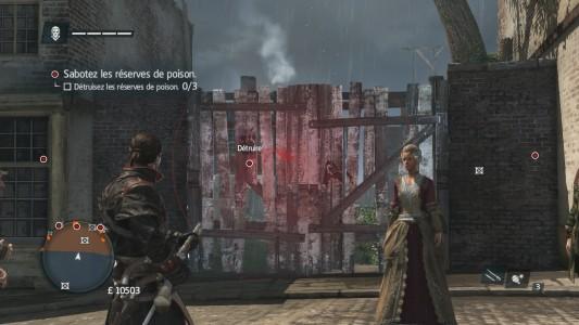 Assassin's Creed Rogue lance-grenades