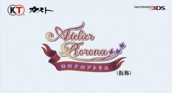 Atelier Rorona 3DS logo