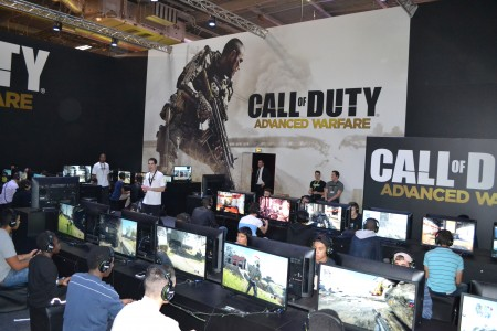 Call of Duty Advanced Warfare à la Paris Games Week