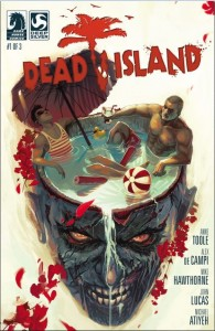 Dead Island comics couverture