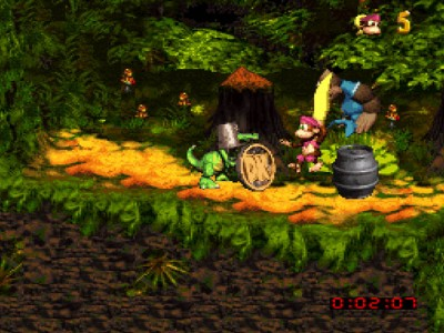 Donkey Kong Country 3 - Dixie Kong's Double Trouble Pièce DK