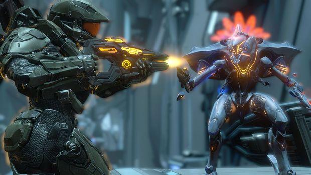 Halo: The Master Chief Collection Major vs prométhéen