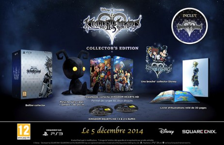 KINGDOM HEARTS HD 2.5 ReMIX collector
