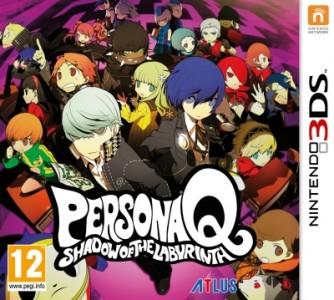 La jaquette de Persona Q : Shadow of the Labyrinth