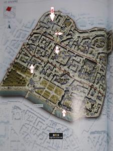 Assassin's Creed Unity les Artefacts du Louvre