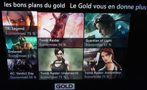 Les bons plans du gold xbox 360