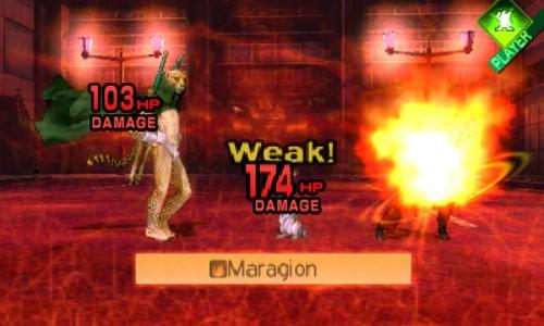 Shin Megami Tensei IV - Fight