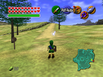 The Legend of Zelda - Ocarina of Time gameplay