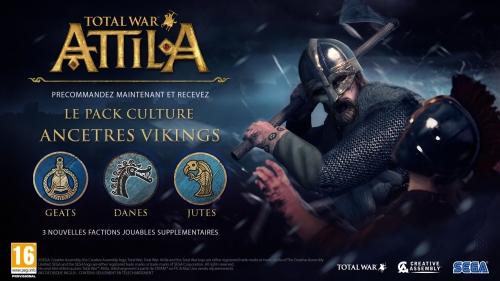 Total war Attila Bonus précommande