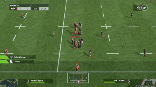 Rugby 15 screen