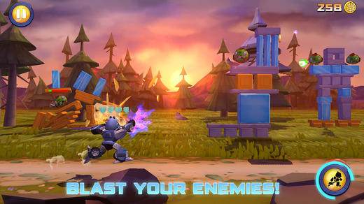 angry birds transformers shoot