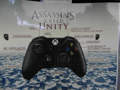 Controle Xbox One Assassin's Creed Unity