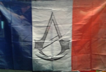 Drapeau français Assassin's Creed Unity