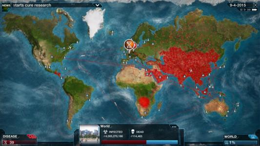 plague monde