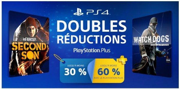 double réduction PlayStation Plus