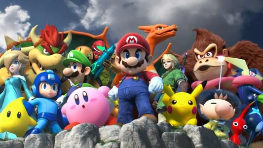 Super Smahs Bros. for Wii U Personngaes