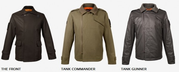 Musterbrand  veste World of tank