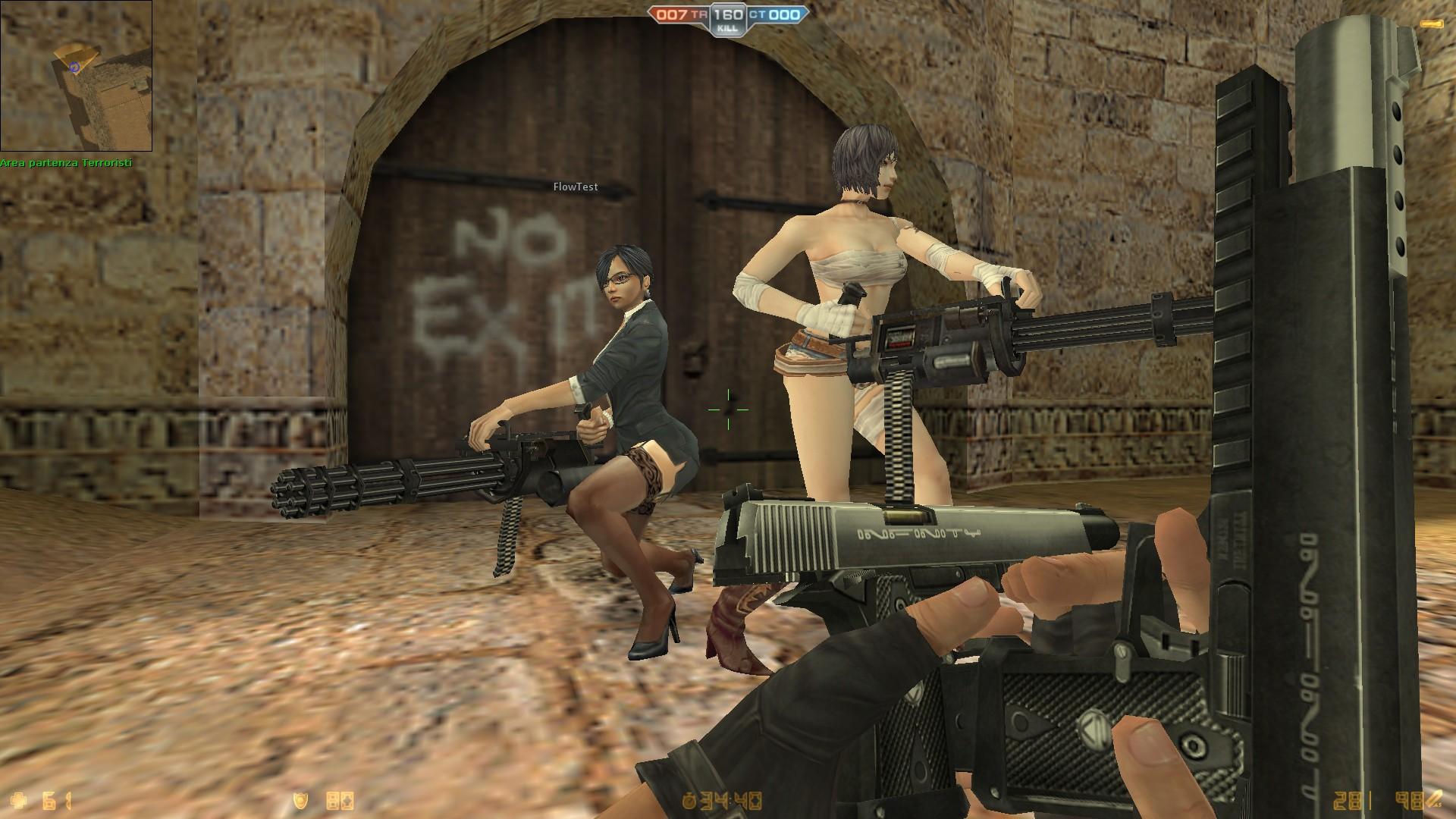 Counter-Strike neon : Zombies nouveau personnages