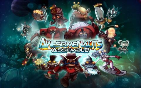 Awesomenauts Assemble Logo